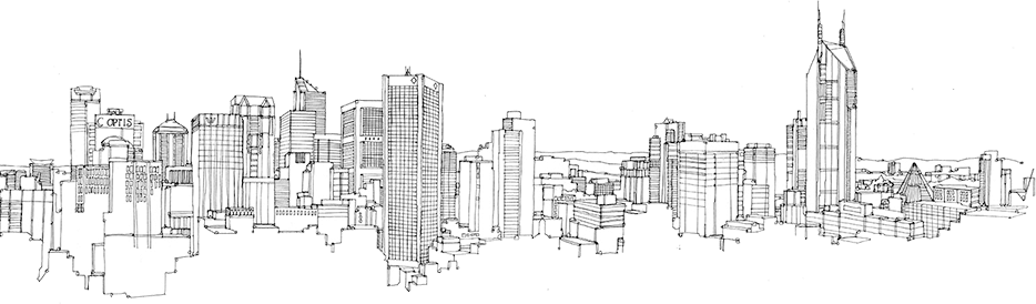 city outline